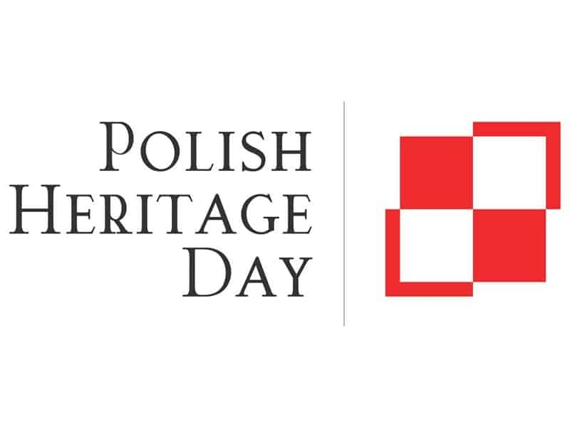 Polish Heritage Day logo and website link