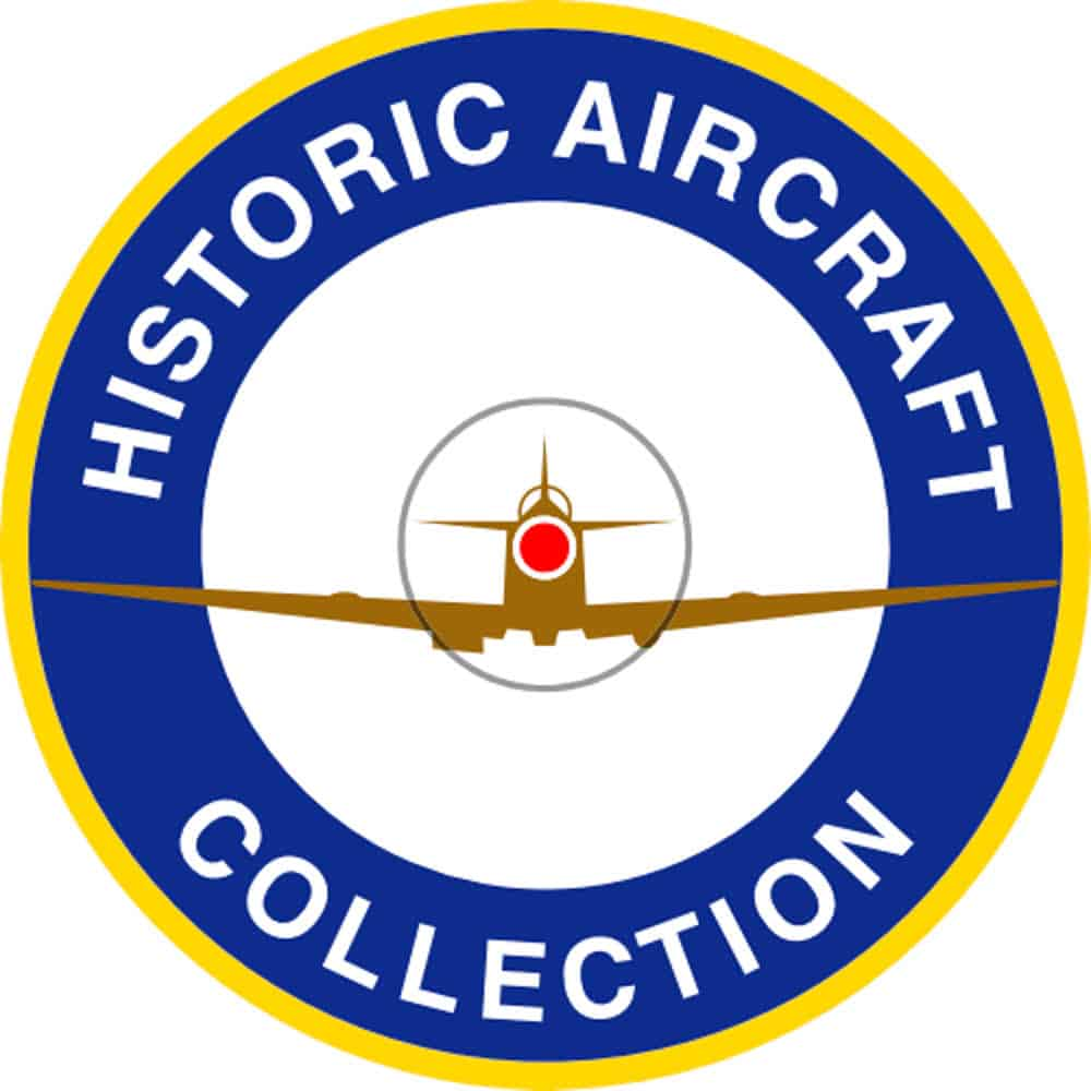 Historic Aircraft Collection logo and website link