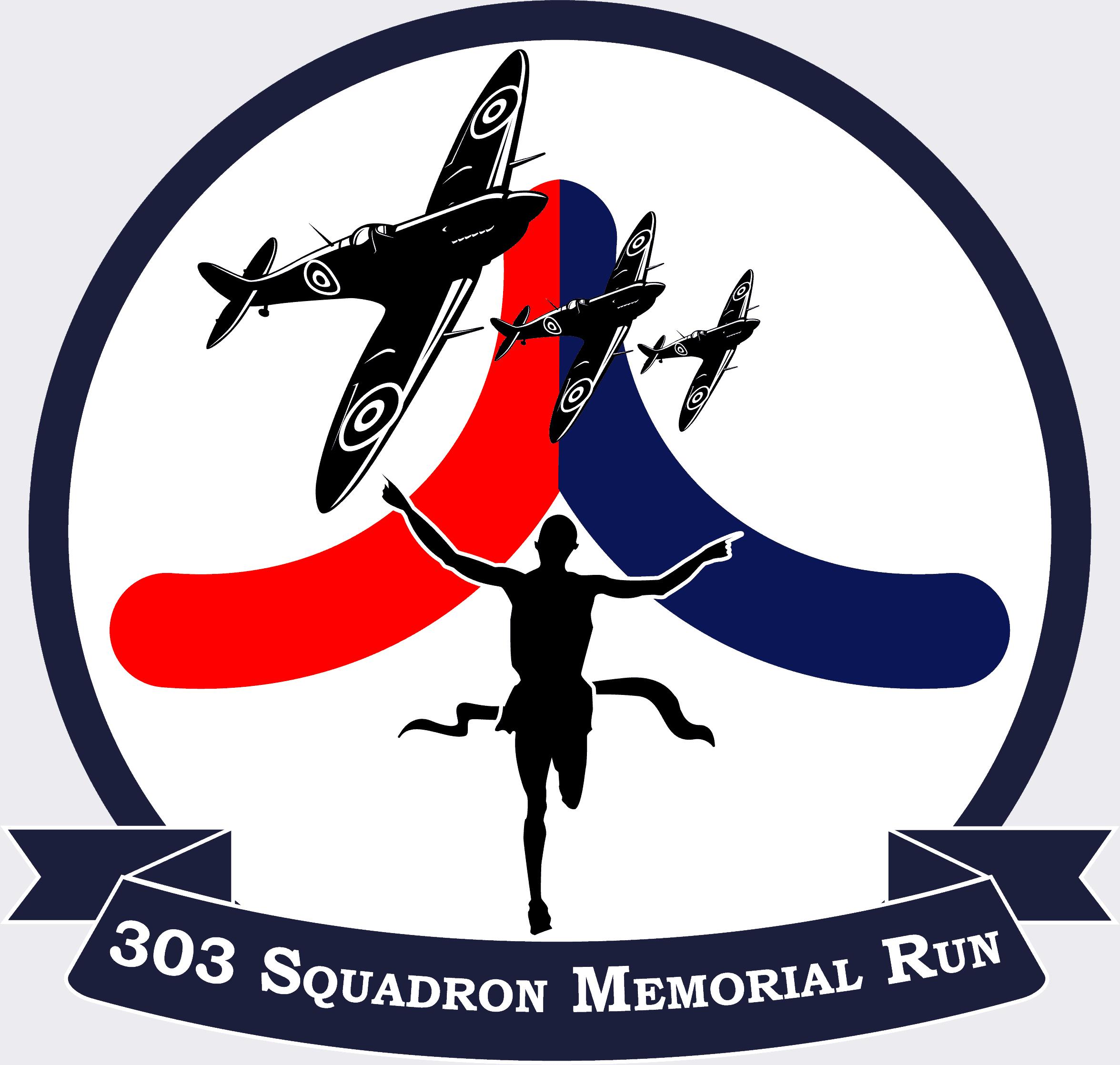 303 squadron memorial run logo