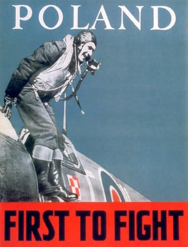Polish Airmen recruitment poster