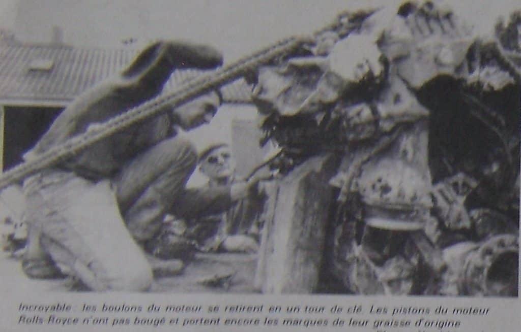 Wing Commander Piotr Laguna crash site