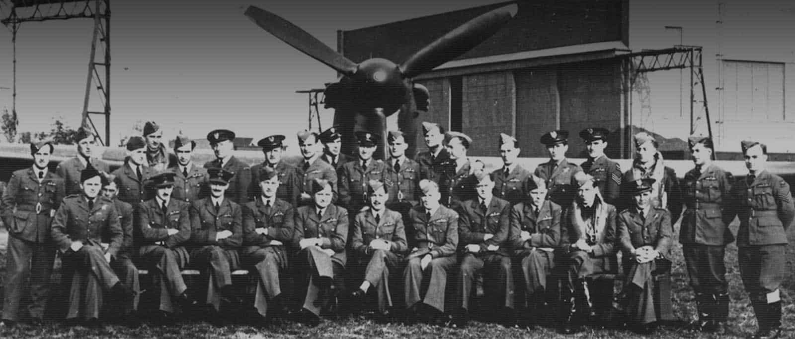 WW2 Polish Spitfire Fighter Pilots Squadron photo