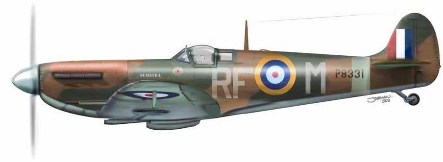 Supermarine Spitfire P8331 Sumatra